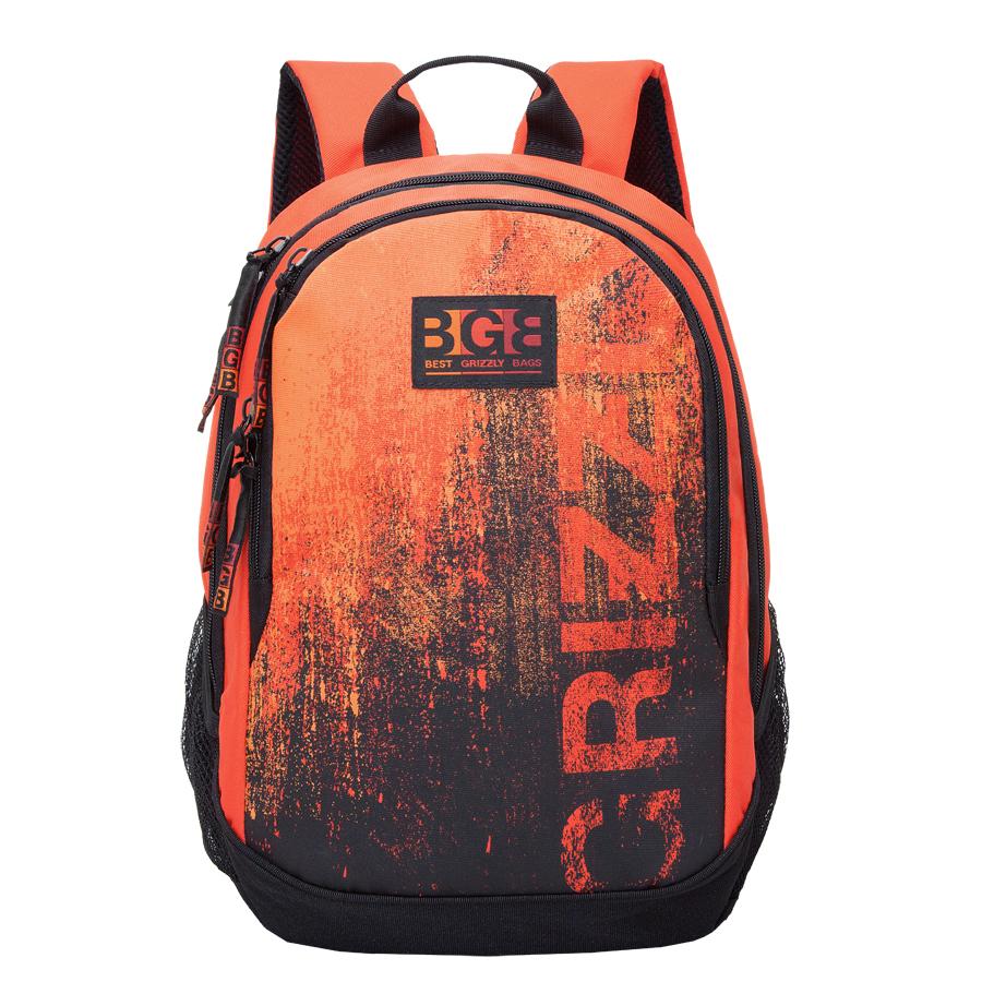Рюкзак молодежный мужской Grizzly, цвет: оранжевый, 22 л. RU-603-1/4RU-603-1/4Рюкзак молодежный, два отделения, карман на молнии на передней стенке, боковые карманы из сетки, внутренний карман на молнии, внутренний карман-пенал для карандашей, внутренний подвесной карман на молнии, жесткая анатомическая спинка, дополнительная ручка-петля, укрепленные лямки