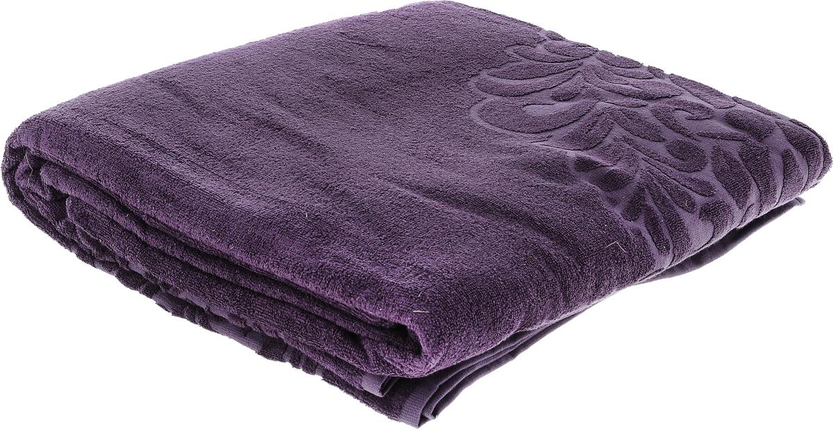 Покрывало Issimo Home Valencia, цвет: пурпурный, 160 х 240 см4654Махровое покрывало Issimo Home Valencia изготовлено из экологически чистых материалов: хлопка (40%) и бамбука (60%). Изделие оснащено жаккардовой каймой и украшено рельефным рисунком. Покрывало подходит как для взрослых, так и для детей. Оно будет хорошо смотреться и на диване, и на большой кровати.
