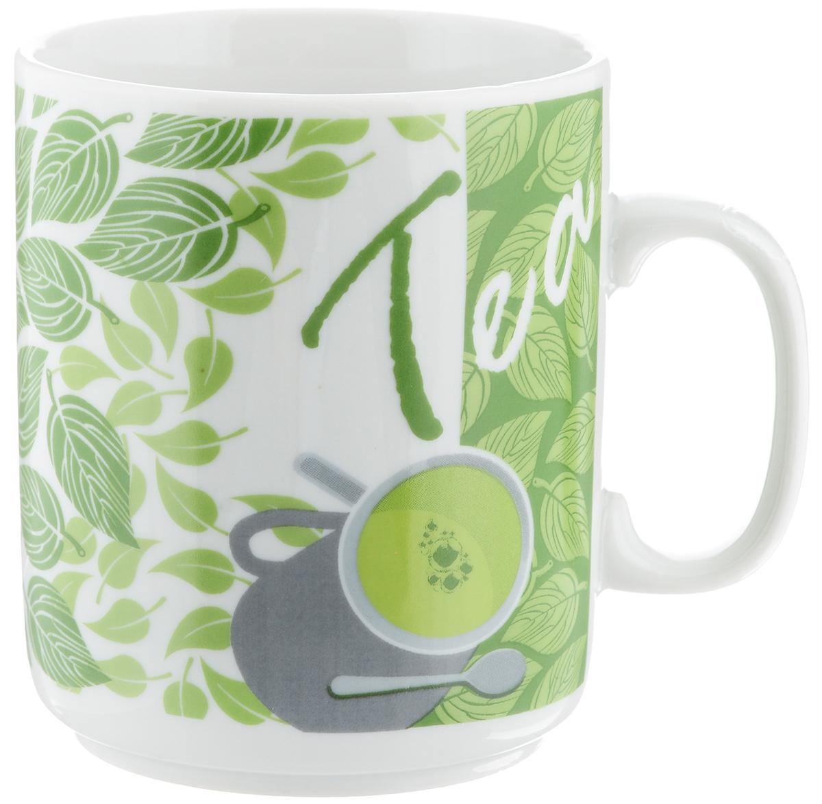 Кружка Фарфор Вербилок Чай, 300 мл9272190Кружка Фарфор Вербилок Чай способна скрасить любое чаепитие. Изделие выполнено из высококачественного фарфора. Посуда из такого материала позволяет сохранить истинный вкус напитка, а также помогает ему дольше оставаться теплым. Диаметр по верхнему краю: 7,5 см. Высота кружки: 10 см.
