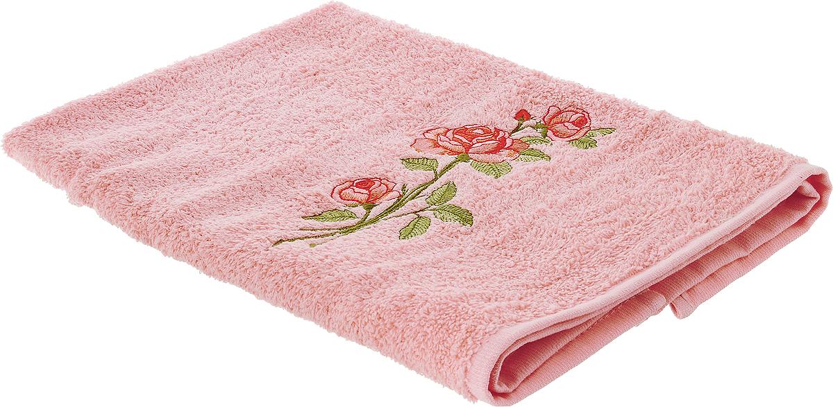 Полотенце Karna Nora, цвет: светло-розовый, 50 х 70 см2072/CHAR001Полотенце Karna Nora выполнено из высококачественного хлопка и оформлено изящной вышивкой. Изделие очень мягкое, идеально впитывает влагу, не вызывает раздражения. Полотенце после многократных стирок остается мягким и пушистым, сохраняя свой первоначальный вид. Полотенце Karna украсит интерьер в ванной комнате, а также подарит ощущение нежности и удивительного комфорта.