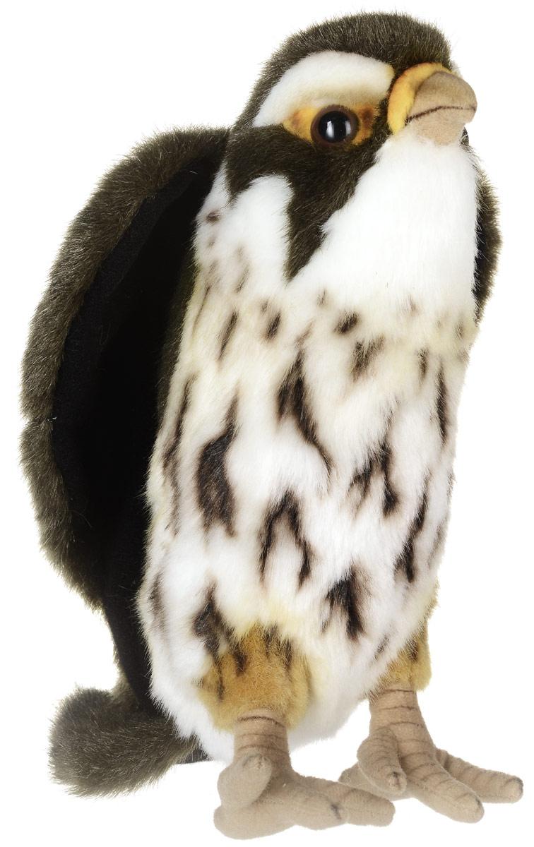 Hansa Toys Мягкая игрушка Сокол 22 см3079Соколы - род хищных птиц семейства соколиных. Соколы распространены повсеместно. Имеют клиновидные крылья, благодаря которым они способны ловко маневрировать и развивать необычайно большую скорость в пикирующем полете. Метод охоты - подняться высоко в небо и пикировать на свою добычу. Размеры - 15-60 см. Самки крупнее самца. Самка откладывает около 4 яиц. Питаются насекомыми, птицами и другими мелкими животными. Мягкая игрушка Hansa Toys Сокол обязательно понравится вам и вашему малышу, а также познакомит вас с этим животным.