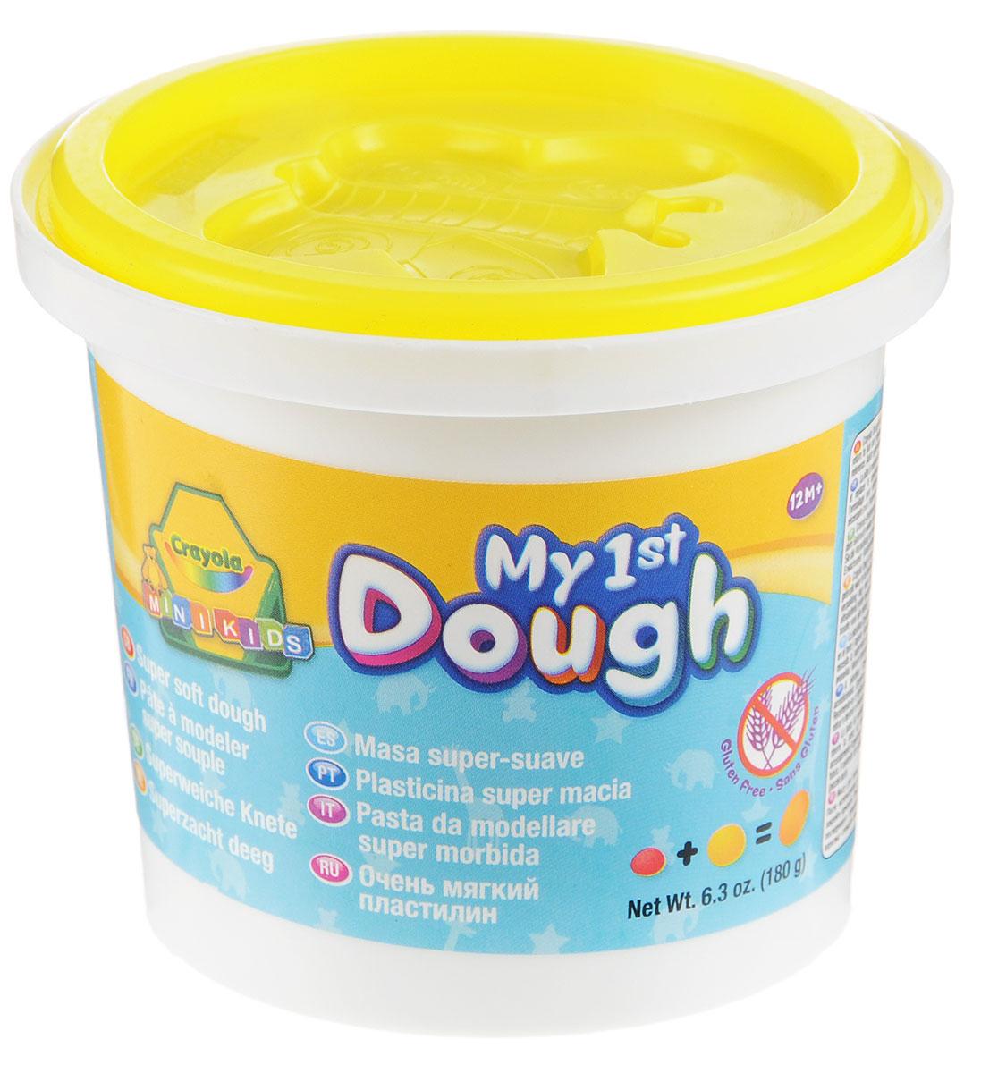 Crayola Масса для лепки My 1st Dough Бабочка цвет желтый