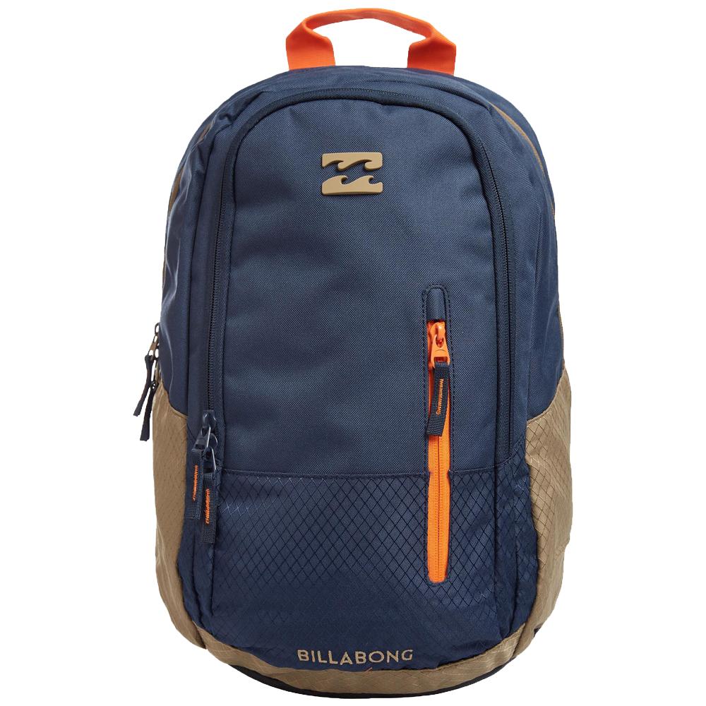 Рюкзак городской мужской Billabong Shadow, цвет: индиго, 25 л. Z5BP03Z5BP03Стильный и удобный рюкзак, компактный и достаточно вместительный. Отделение под ноутбук…