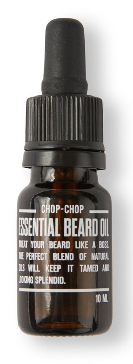 Chop-Chop Эликсир для бороды, 10 млCHPCHP.ELXДля тех, кто любит свою бороду и отпускает ее. Специальная нежирная структура этого средства быстро впитывается и делает волосы супер-мягкими и приятными на ощупь. Активные ингредиенты Вся сила мужского обаяния эликсира выражена ароматом контрастов мощной эссенции ветивера в дуэте с благородными экстрактами эфирного масла виноградных косточек. Нежирная текстура быстро впитывается и позволяет поддерживать бороду в ухоженном состоянии. Эликсир для бороды не содержит парабенов, красителей и химических отдушек.