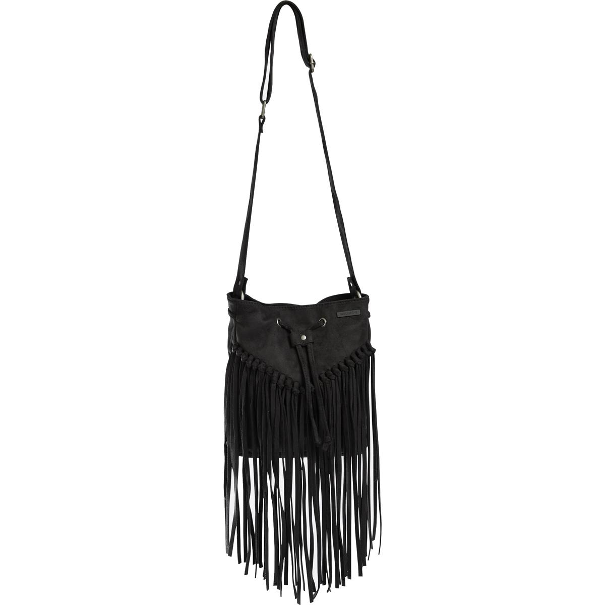 Сумка Billabong Addict, цвет: черный, 4 л. Z9BG05Z9BG05Классическая сумка через плечо, сделанная из прочного износостойкого хлопка. Одна из нескольких сумок из линейки Surfplus