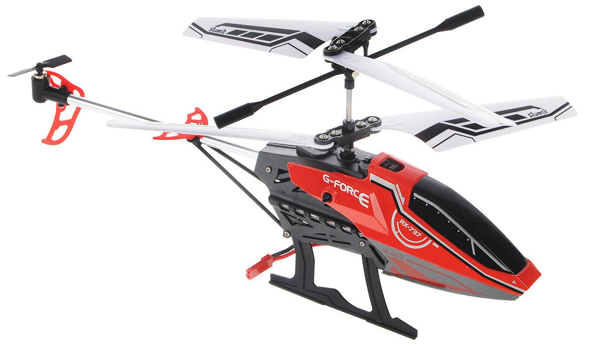 Silverlit Вертолет на радиоуправлении Sky Fury цвет красный черный84749_красный, черныйВертолет на радиоуправлении Silverlit Sky Fury привлечет внимание не только ребенка, но и взрослого, и станет отличным подарком любителю воздушной техники. Вертолет совершает полет вверх и вниз, поворот налево и направо, движение вперед и назад. Встроенный гироскоп гарантирует стабилизацию полета. Вертолет имеет трехканальное дистанционное управление. Пульт управления работает на частоте 2,4 GHz, что позволяет управлять несколькими вертолетами без перебивания сигнала. Модель вертолета идеально подходит для игры внутри помещения без ветра. Каждый полет вертолета будет максимально комфортным и принесет вам яркие впечатления! Радиоуправляемые игрушки способствуют развитию координации движений, моторики и ловкости. Вертолет работает от встроенного аккумулятора, зарядка которого происходит посредством USB-кабеля. Время зарядки: 50-60 минут. Время работы игрушки с полностью заряженным аккумулятором: 5-6 минут. Для работы пульта управления необходимо купить 3...