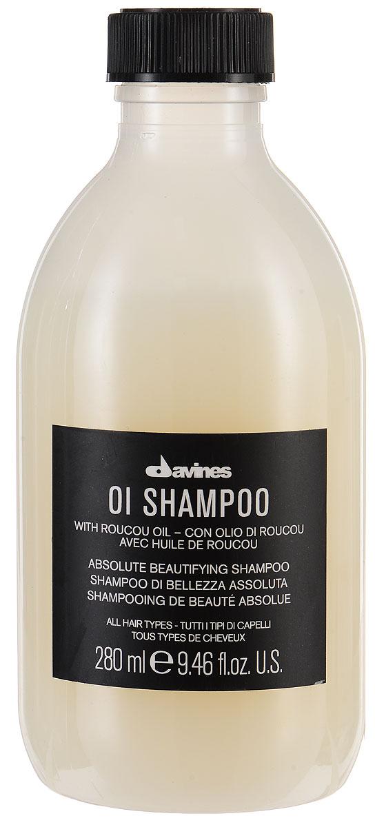 Davines Шампунь для абсолютной красоты волос Essential Haircare Ol Absolute Beautifying Shampoo, 280 мл73271/76004Бережное очищение и мягкий уход. Легкая питательная пена ухаживает за волосами, закрывает чешуйки, придавая волосам эластичность и гладкость. Волосы становятся более объемными, приобретают блеск и невероятную мягкость. Формула без сульфатов и парабенов. В составе шампуня - масло аннато, получаемый из розового масла. Этот особый элемент дарит локонам невероятный блеск, заметный сразу.
