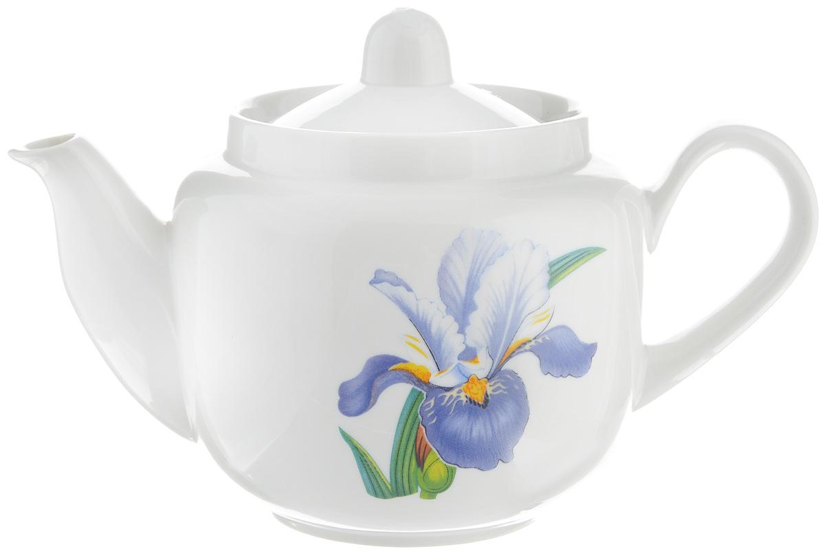 Чайник заварочный Фарфор Вербилок Вернисаж, 600 мл1730650Для того чтобы насладиться чайной церемонией, требуется не только знание ритуала и чай высшего сорта. Необходим прекрасный заварочный чайник, который может быть как центральной фигурой фарфорового сервиза, так и самостоятельным, отдельным предметом. От его формы и качества фарфора зависит аромат и вкус приготовленного напитка. Именно такие предметы формируют в доме атмосферу истинного уюта, тепла и гармонии. С заварочным чайником Фарфор Вербилок Вернисаж вы сможете ощутить более богатый, ароматный вкус чая или кофе. Изделие выполнено из высококачественного фарфора и украшено цветочным рисунком. Диаметр чайника по верхнему краю: 8 см. Диаметр основания чайника: 7 см. Высота чайника (без учета крышки): 10 см.