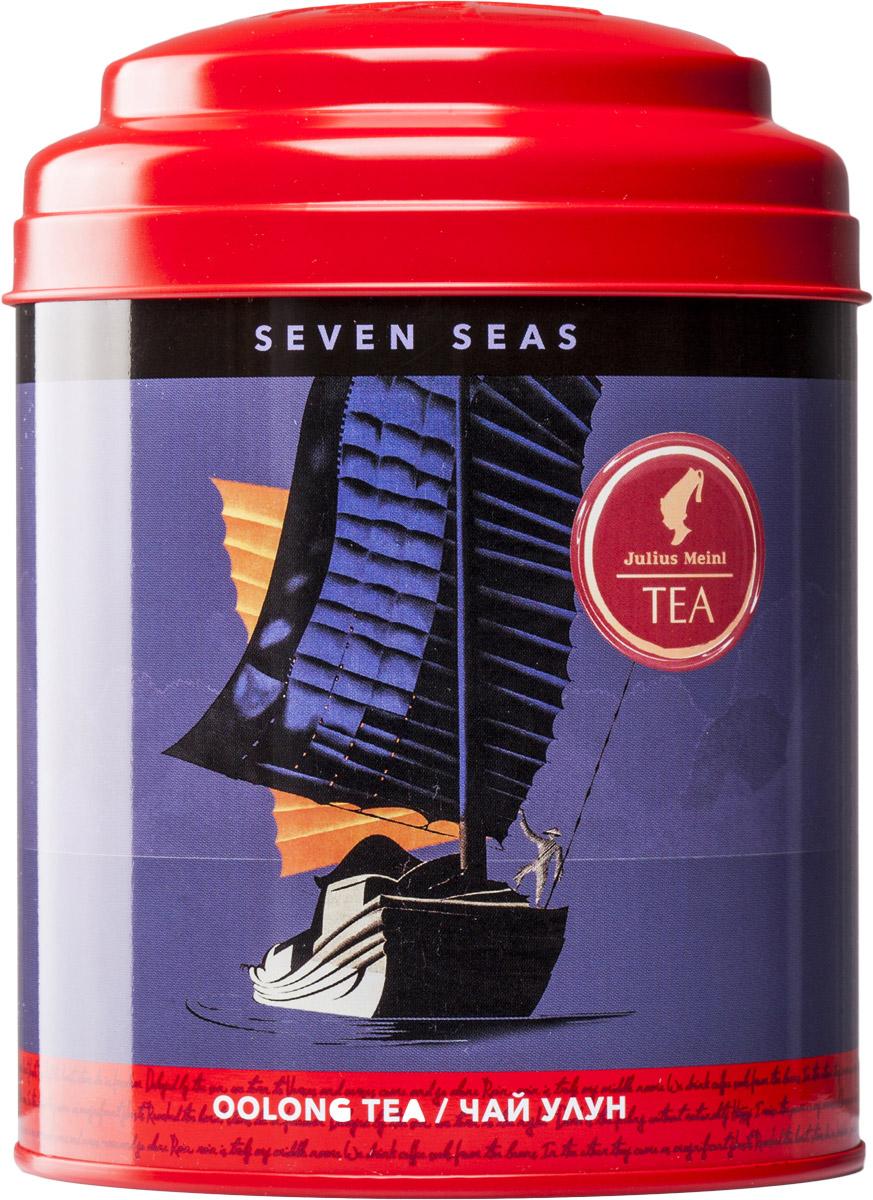 Julius Meinl Семь морей чай улун листовой, 50 г86896Перед вами редкий утесный чай Да Хун Пао из региона Уишань, который отличается многогранностью вкуса и настроений: благородная горечь сочетается со сладостью вкуса, печеный аромат сменяется свежим послевкусием. Чай, способный «штормить» и умиротворять, непредсказуемый как само море, – для тех, кто слышит зов дальних странствий в своем сердце.