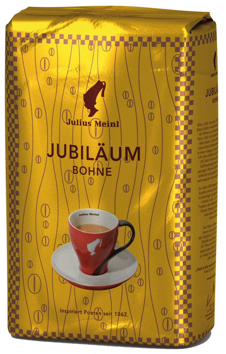 Julius Meinl Юбилейный кофе в зернах, 500 г43Премиальный бленд традиционной венской обжарки из лучших зерен, собранных на высокогорных плантациях Центральной Америки и Папуа Новой Гвинеи. Был создан 50 лет назад в честь празднования 100-летнего юбилея компании Julius Meinl.