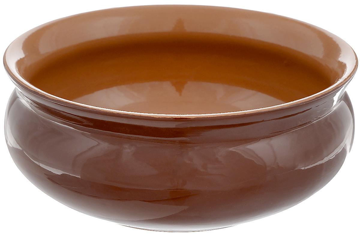 Тарелка глубокая Борисовская керамика Скифская, цвет: коричневый, 500 млРАД14458194_коричневыйГлубокая тарелка Борисовская керамика Скифская выполнена из керамики. Изделие сочетает в себе изысканный дизайн с максимальной функциональностью. Она прекрасно впишется в интерьер вашей кухни и станет достойным дополнением к кухонному инвентарю. Такая тарелка подчеркнет прекрасный вкус хозяйки и станет отличным подарком. Можно использовать в духовке и микроволновой печи. Диаметр тарелки (по верхнему краю): 14 см. Объем: 500 мл.
