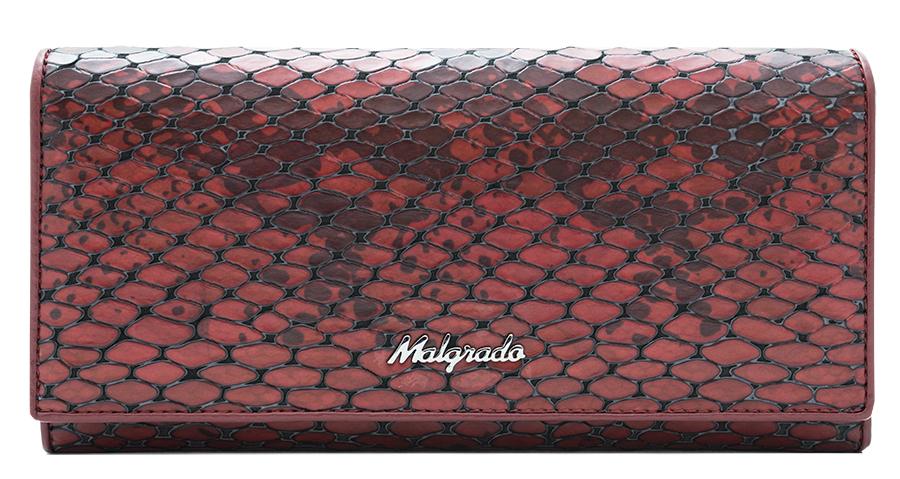 Кошелек женский Malgrado, цвет: красный. 72032-5250172032-52501
