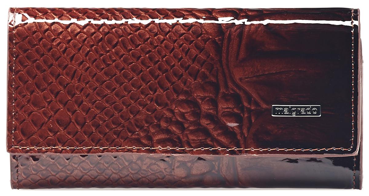 Ключница женская Malgrado, цвет: коричневый . 47006-0440347006-04403