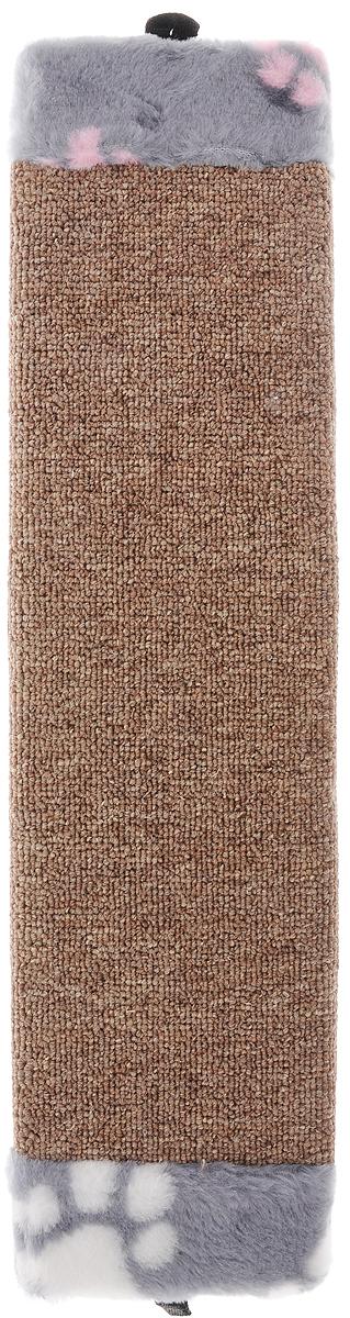 Когтеточка Elite Valley, с пропиткой, цвет: коричневый, серый, розовый, длина 51 смКТ-2Когтеточка Elite Valley поможет сохранить мебель и ковры в доме от когтей вашего любимца, стремящегося удовлетворить свою естественную потребность точить когти. Когтеточка изготовлена из ДСП и обтянута ковролином. Изделие продумано в мельчайших деталях и, несомненно, понравится вашей кошке. Всем кошкам необходимо стачивать когти. Когтеточка - один из самых необходимых аксессуаров для кошки. Общая длина когтеточки: 51 см. Длина рабочей части: 39,5 см.