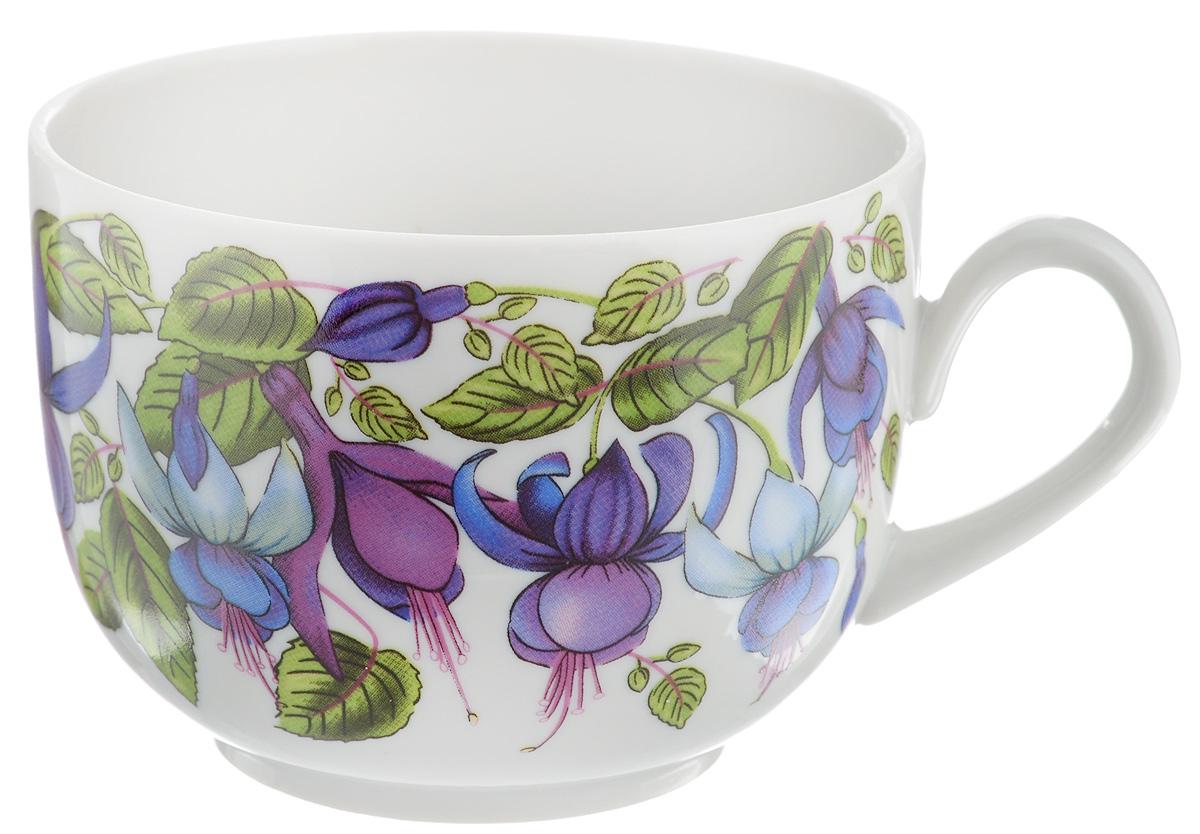 Чашка чайная Фарфор Вербилок Фуксия, 250 мл767172Чайная чашка Фарфор Вербилок Фуксия изготовлена из высококачественного фарфора и украшена цветочным рисунком. Она отвечает всем требованиям людей с широкой душой и хорошим аппетитом. Такая чашка прекрасно подходит как для ежедневных трапез, так и для подарков дорогим друзьям. Диаметр по верхнему краю: 8,5 см. Высота стенки: 6,5 см.