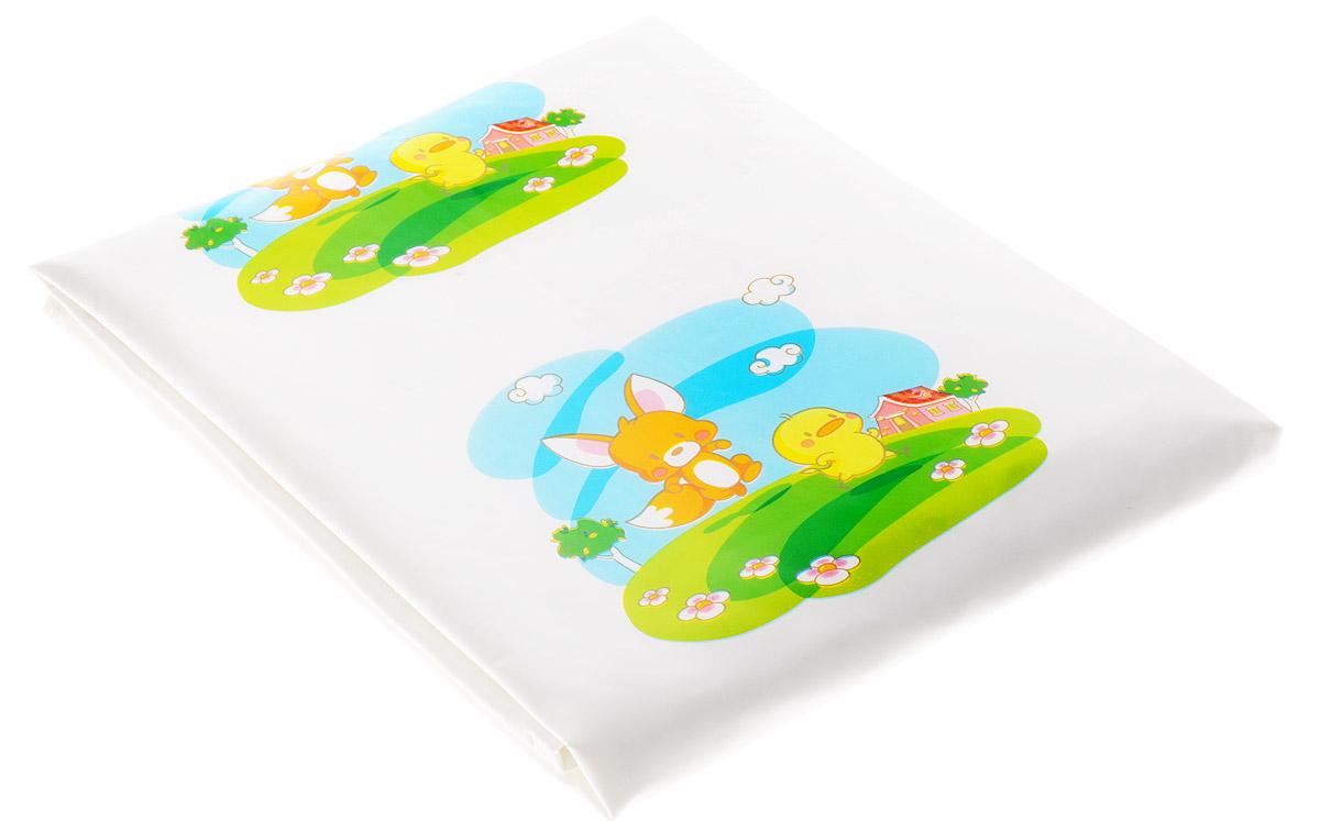 Canpol Babies Клеенка на кровать Зверята250930617Клеенка непромокаемая Зверята - помощник маме в уходе за малышом. Оптимальный размер делает ее удобной в использовании для любой поверхности - будь то кроватка малыша, пеленальный столик или диван. Просто положите клеенку между матрацем и простыней в местах, которые могут промокнуть - и поверхность будет надежно защищена. Клеенка изготовлена из высококачественного материала, не имеет запаха. Бренд Canpol babies уже более 25 лет помогает мамам во всем мире растить своих малышей здоровыми и счастливыми.