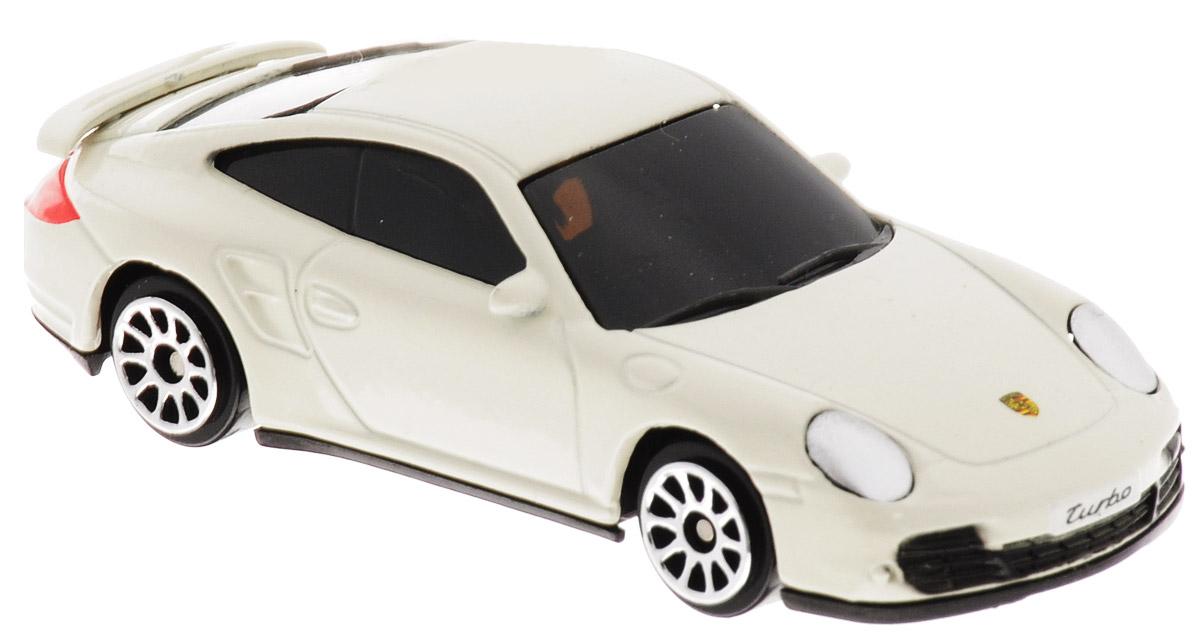 Uni-Fortune Toys Модель автомобиля Porsche 911 Turbo344019SPorsche 911 Turbo - спортивный автомобиль производства немецкой компании Porsche AG, производящийся с 1964 года по наши дни. Благодаря броской внешности и великолепной точности машинка станет подлинным украшением любой коллекции авто. Модель выполнена в масштабе 1/64. Модель будет долго служить своему владельцу благодаря металлическому корпусу с элементами из пластика. Машинка обязательно понравится вашему ребенку и станет достойным экспонатом любой коллекции.
