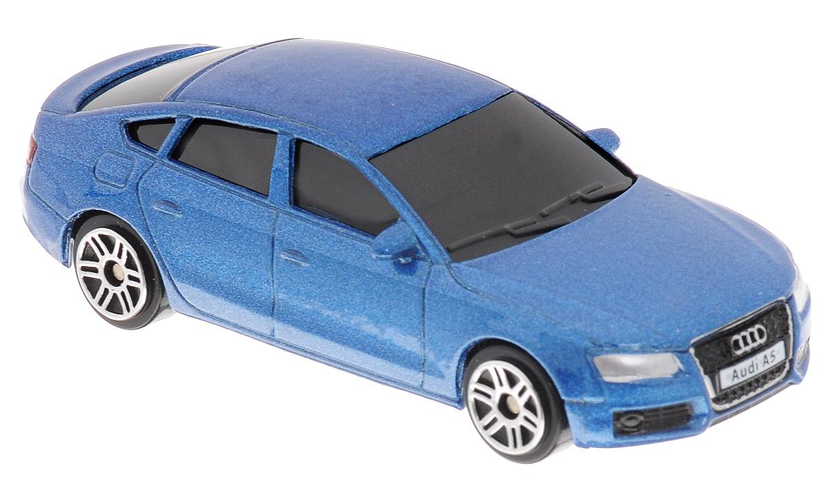 Uni-Fortune Toys Модель автомобиля Audi A5 Sportback цвет синий344012S_синийAudi A5 - спортивный автомобиль, производимый немецким aвтопроизводителем Audi с 2007 года на заводе в Ингольштадте. Audi A5 была одновременно представлена на Женевском автосалоне и Мельбурнском международном автосалоне 6 марта 2007 года. Производитель позиционирует модель как автомобиль класса Гран туризмо, тем самым заявляя его как конкурента BMW E92 (купе BMW 3-серии) и Mercedes-Benz CLK-Class (ныне выпускается как Mercedes-Benz E-Class Coupe). Благодаря броской внешности и великолепной точности машинка станет подлинным украшением любой коллекции авто. Модель выполнена в масштабе 1/64. Модель будет долго служить своему владельцу благодаря металлическому корпусу с элементами из пластика. Машинка обязательно понравится вашему ребенку и станет достойным экспонатом любой коллекции.