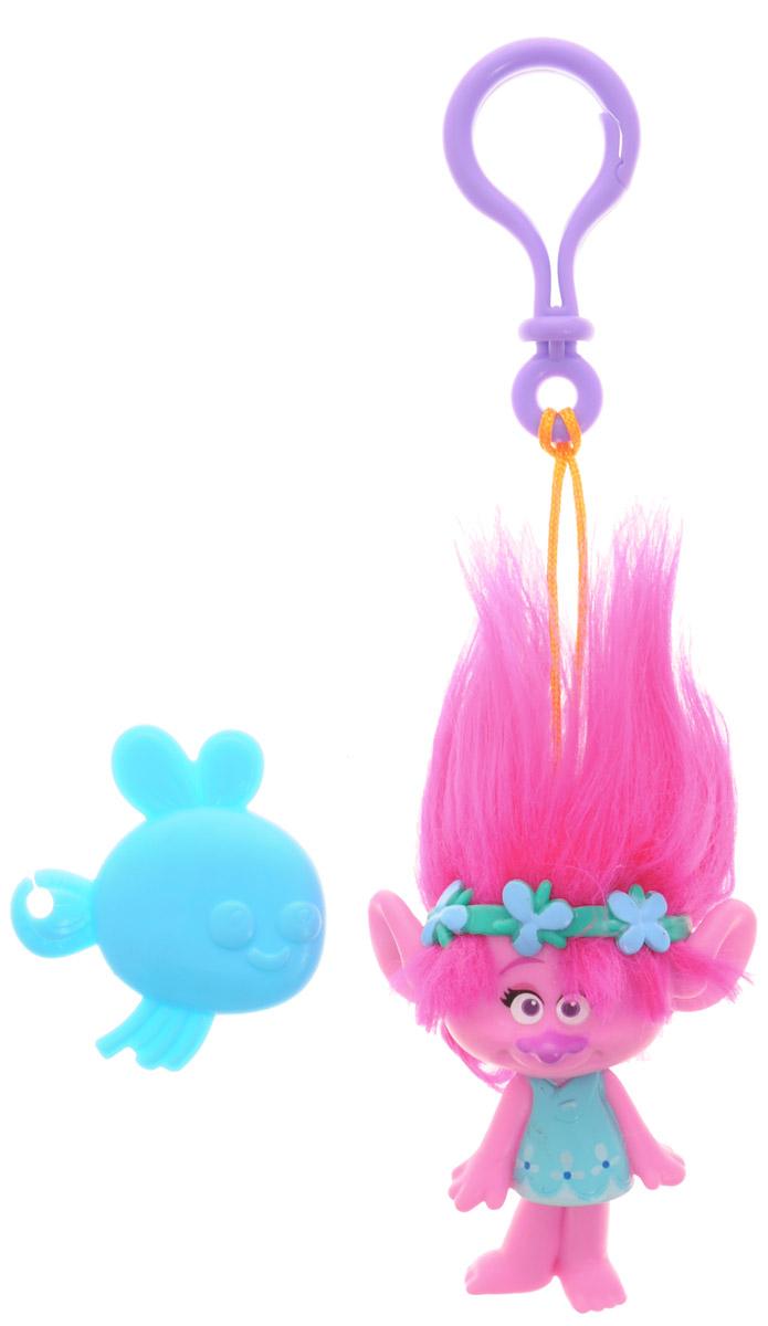 Zuru Брелок Тролль Poppy 62016201_розовыйМилые, улыбчивые и очень доброжелательные существа из нового мультфильма Тролли выглядят очень ярко и эффектно. Колоритные персонажи мультфильма отличаются не только яркой внешностью и роскошными, торчащими вверх волосами, но и добрым характером. В свободное время тролли беззаботно веселятся, танцуют и поют песни, а в минуты опасности объединяют свои усилия и смело преодолевают жизненные трудности. Poppy - лидер, она оптимистична, слегка наивна. Брелок выполнен из качественного пластика, а волосы - из мягкого текстильного материала. Брелок с практичным пластиковым карабином на прочном шнурке, благодаря чему его можно носить с собой, используя в качестве подвески на телефон, сумочку или рюкзак, а также как украшение на зеркале автомобиля или ключах. Легко поправить растрепавшуюся в процессе эксплуатации прическу тролля поможет имеющаяся в комплекте расческа для волос.