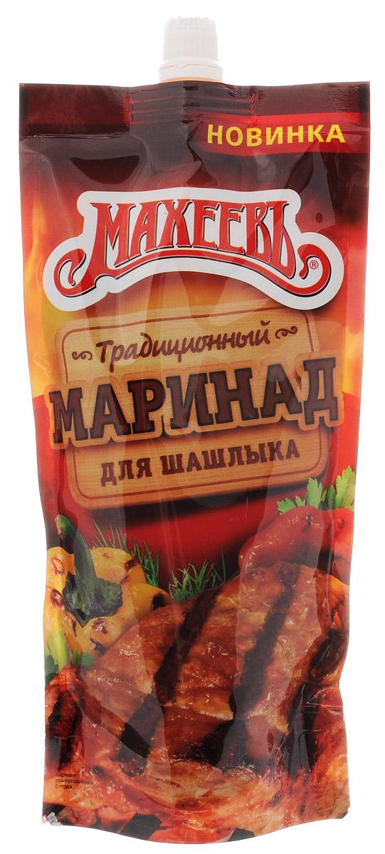 Махеев приправа пищевкусовая маринад традиционный для вкусного шашлыка, 300 г
