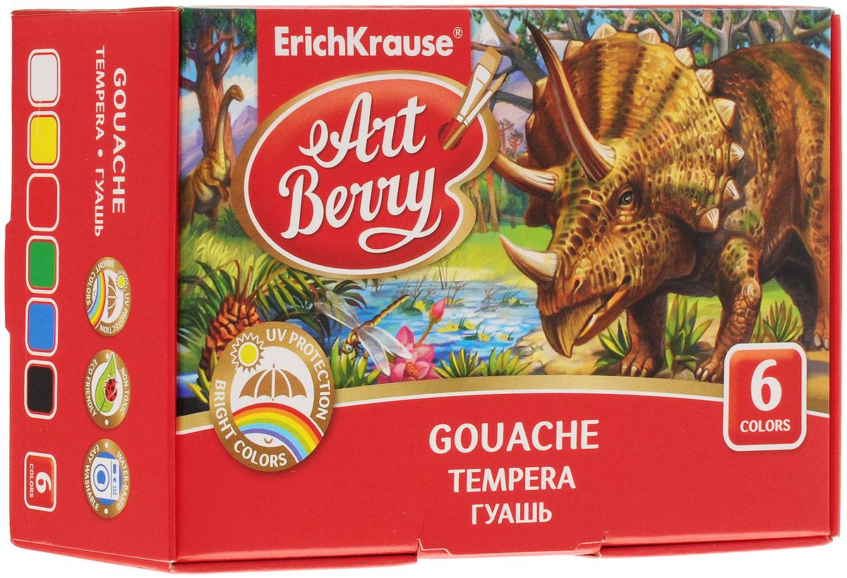 Erich Krause Гуашь ArtBerry 6 цветов
