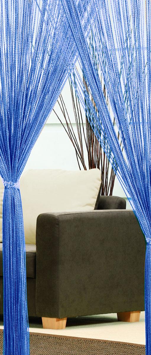 Гардина-лапша Haft, на кулиске, цвет: синий, высота 250 см46991/250 синийЛегкая гардина-лапша на кулиске Haft, изготовленная из полиэстера, станет великолепным украшением любого окна. Оригинальный дизайн и приятная цветовая гамма привлекут к себе внимание и органично впишутся в интерьер комнаты.