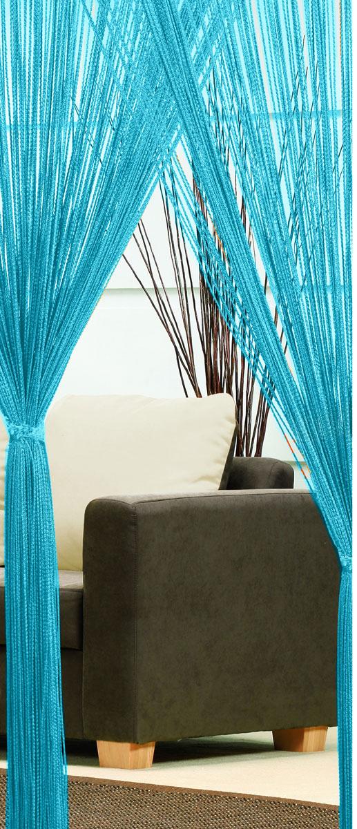 Гардина-лапша Haft, на кулиске, цвет: морская волна, высота 250 см46991/250 морская волнаЛегкая гардина-лапша на кулиске Haft, изготовленная из полиэстера, станет великолепным украшением любого окна. Оригинальный дизайн и приятная цветовая гамма привлекут к себе внимание и органично впишутся в интерьер комнаты.