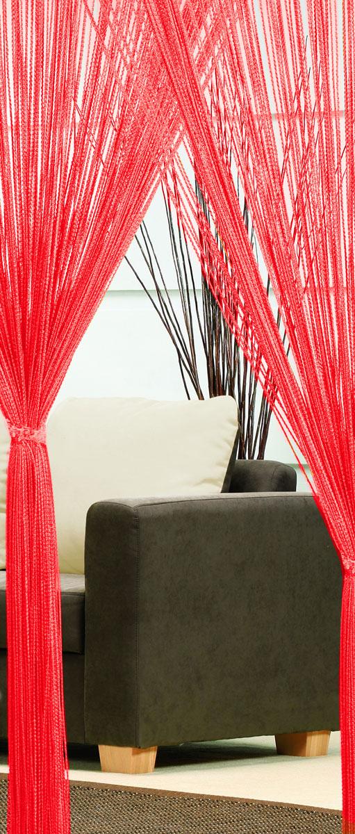 Гардина-лапша Haft, на кулиске, цвет: красный, высота 250 см46991/250 красныйЛегкая гардина-лапша на кулиске Haft, изготовленная из полиэстера, станет великолепным украшением любого окна. Оригинальный дизайн и приятная цветовая гамма привлекут к себе внимание и органично впишутся в интерьер комнаты.