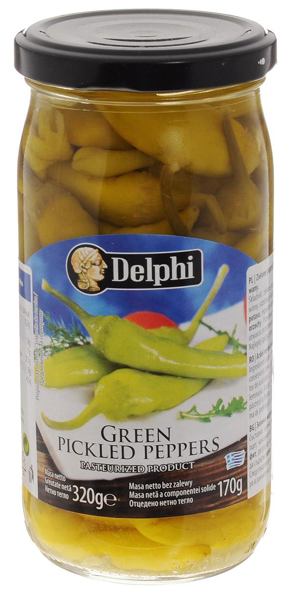 Delphi Перец зеленый маринованный, 320 г