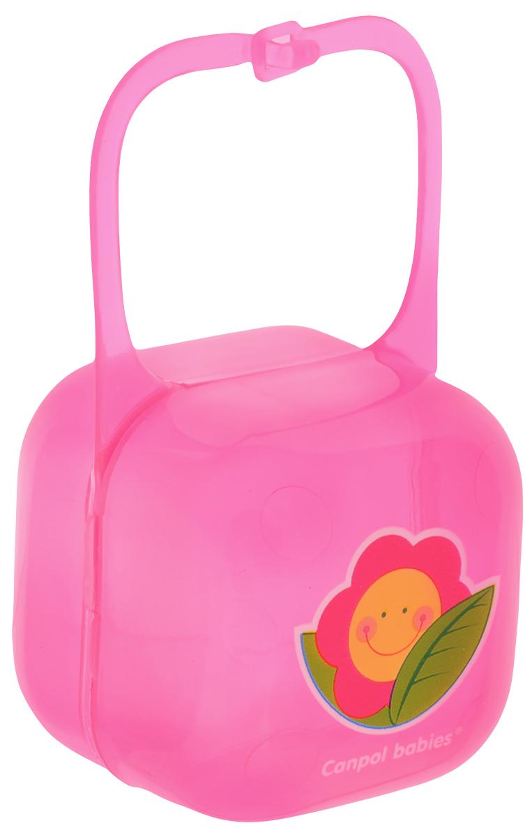 Canpol Babies Футляр для пустышки цвет розовый 250930406