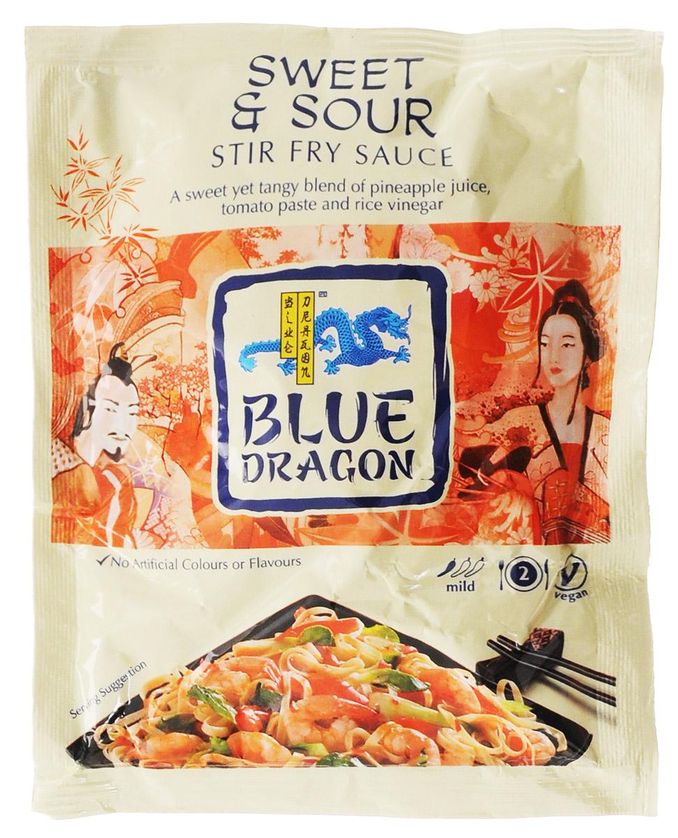 Blue Dragon Соус стир-фрай Кисло-сладкий, 120 г020770Соус стир-фрай Blue Dragon Кисло-сладкий для приготовления горячих блюд с томатным пюре, рисовым уксусом, соком ананаса и имбирем. Подходит для вегетарианцев.