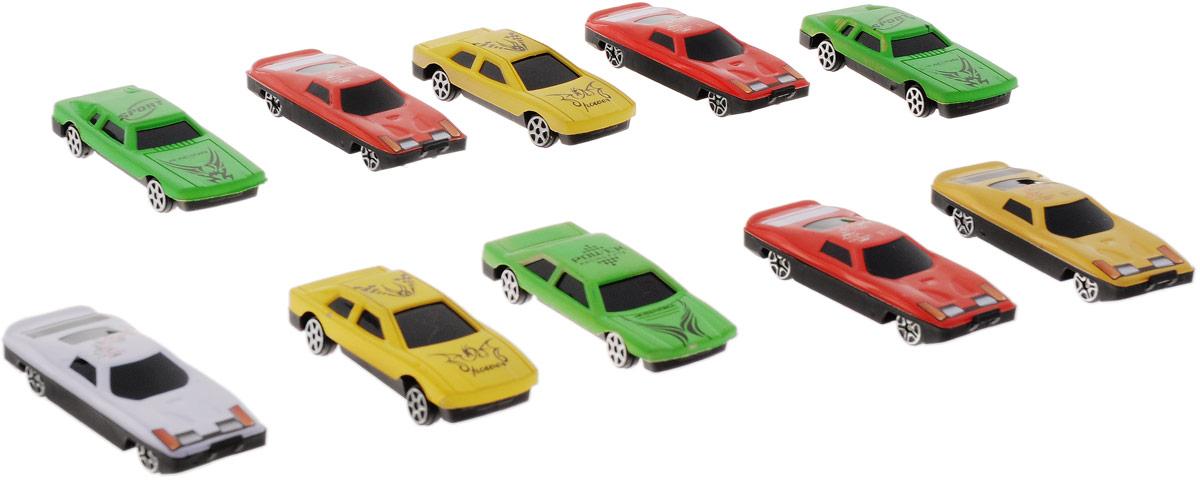 Plastic Toy Набор машинок 10 штB1374355Набор машинок Plastic Toy понравится любому мальчику. В набор входит 10 спортивных и гоночных автомобилей. Каждая машинка имеет индивидуальную форму и раскраску. Машинки изготовлены из качественных и безопасных материалов. Имея такой автопарк, можно устраивать соревнования и гонки с друзьями. Благодаря разнообразию моделей и цветов скучать будет некогда.