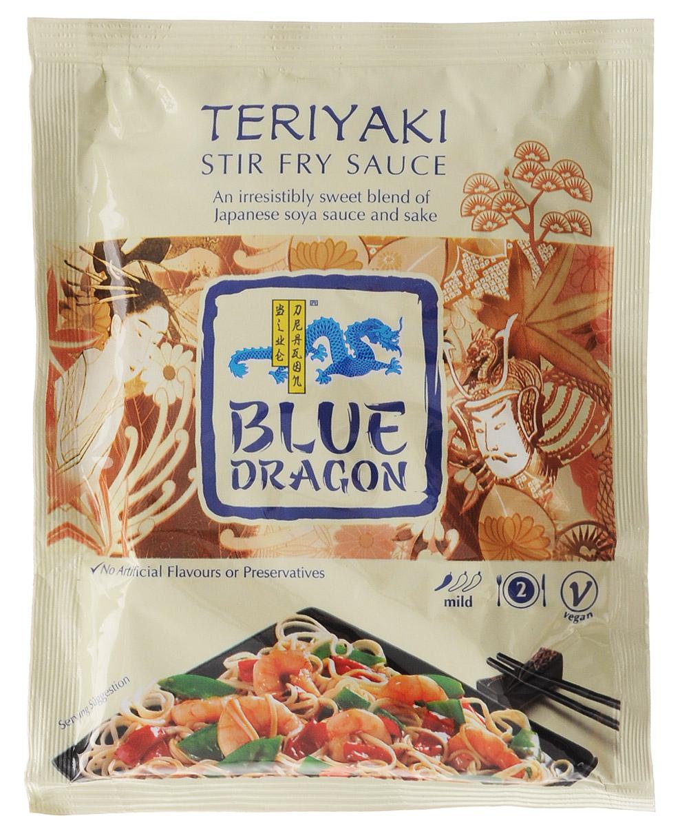Blue Dragon Соус стир-фрай Терияки, 120 г020772Соус стир-фрай Blue Dragon Терияки для приготовления горячих блюд с японским соевым соусом и саке. Подходит для вегетарианцев.