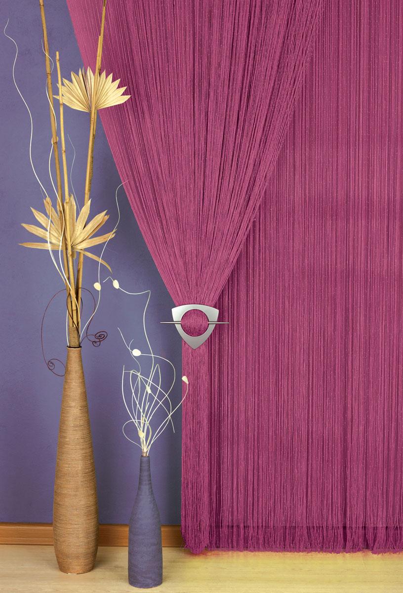 Гардина-лапша Haft, на кулиске, цвет: бордовый, высота 250 см. 203883203883/250 бордоЛегкая гардина-лапша на кулиске Haft, изготовленная из полиэстера, станет великолепным украшением любого окна. Оригинальный дизайн и приятная цветовая гамма привлекут к себе внимание и органично впишутся в интерьер комнаты.