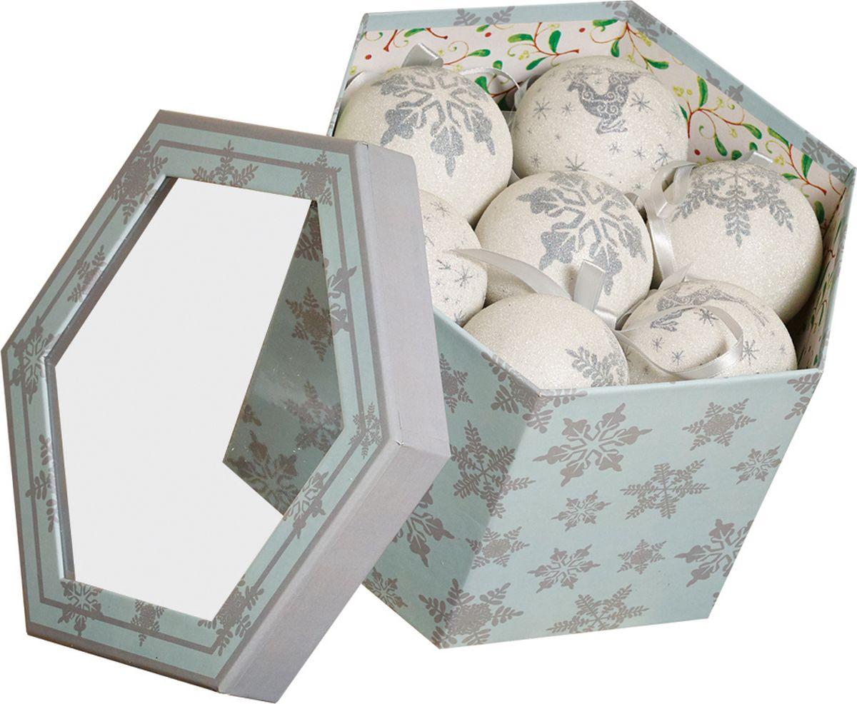 Набор шаров Gardman, 14 шт, диаметр 7,5 см18823XSНабор елочных шаров из глянцевых и матовых в подарочной коробке для украшения дома на Рождество и Новый Год.