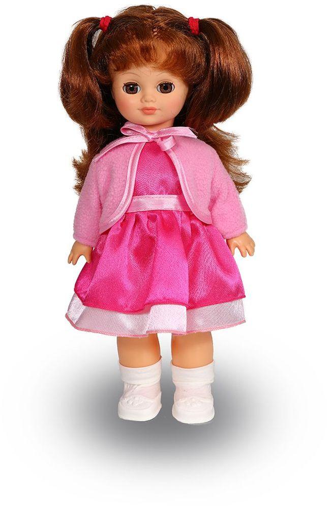 Весна Кукла Христина озвученная 34/оВ34/оУ очаровательной куклы Христины от фабрики Весна лучистые зеленые глаза и пышные светлые волосы. Очаровательная кукла Весна покорит сердце любой девочки! Обаятельный внешний вид и прелестные одежки игрушечных красавиц вызывают только самые добрые и положительные эмоции. Куклы производятся на российских фабриках из нетоксичных, безопасных для детей материалов. Они отличаются высоким качеством, проработанностью деталей и гармоничными пропорциями тела. Голова и ручки кукол изготовлены из эластичного винила, очень приятного на ощупь, а туловище и ножки - из прочной пластмассы. У кукол густые мягкие волосы, которые можно мыть, расчесывать и заплетать как только захочется. Они прочно закреплены и способны выдержать практически любые творческие порывы ребенка. Особый восторг у маленьких модниц вызывают нарядные костюмы, которые можно снимать и менять. Дополнительно к куклам выпускаются самые разнообразные комплекты одежды. С прелестной куклой отечественного производства возможно не просто...