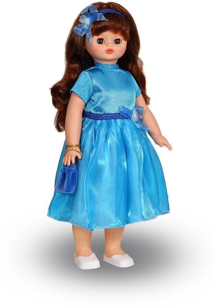 Весна Кукла Алиса озвученная В919/оВ919/оУ элегантной куклы Алисы от фабрики Весна большие карие глаза и роскошные каштановые волосы. Одета Алиса в нарядное голубое платье с бантом из шелка и органзы и прелестные белые туфельки. Комплект дополнен сумочкой и ободком для волос в тон наряду. Алиса оснащена механизмом движения, её можно водить за руку. Также она умеет разговаривать. При нажатии на звуковое устройство, вставленное в спинку, кукла произносит следующие фразы: -Теперь ты моя подруга. -Ты не забыла - сегодня мы идем на праздник. -Нам нужно быть красивыми -Сделай мне прическу -Получилось очень красиво -Теперь себе -Не забудь про маникюр -А нарядное платье -Мы сегодня самые красивые! Очаровательная кукла Весна покорит сердце любой девочки! Обаятельный внешний вид и прелестные одежки игрушечных красавиц вызывают только самые добрые и положительные эмоции. Куклы производятся на российских фабриках из нетоксичных, безопасных для детей материалов. Они отличаются высоким качеством, проработанностью деталей и...