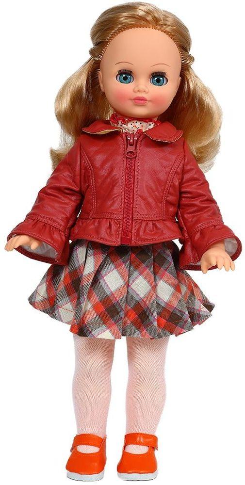 Весна Кукла Лиза озвученная В35/оВ35/оУ чудесной куклы Лизы от фабрики Весна лазурно-голубые глаза и роскошные золотистые волосы. На ней надет прелестный осенний наряд: клетчатая юбочка, блузка, курточка из искусственной кожи, белые колготочки и красные туфельки. У Лизы закрываются глазки, и она умеет разговаривать. При нажатии на звуковое устройство, вставленное в спинку, кукла произносит различные фразы. Очаровательная кукла Весна покорит сердце любой девочки! Обаятельный внешний вид и прелестные одежки игрушечных красавиц вызывают только самые добрые и положительные эмоции. Куклы производятся на российских фабриках из нетоксичных, безопасных для детей материалов. Они отличаются высоким качеством, проработанностью деталей и гармоничными пропорциями тела. Голова и ручки кукол изготовлены из эластичного винила, очень приятного на ощупь, а туловище и ножки - из прочной пластмассы. У кукол густые мягкие волосы, которые можно мыть, расчесывать и заплетать как только захочется. Они прочно закреплены и способны выдержать...