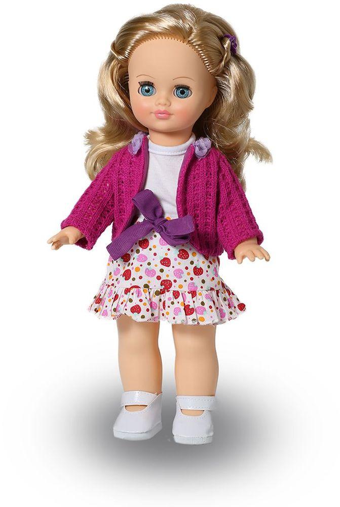 Весна Кукла Элла озвученная В2956/оВ2956/оУ красавицы Эллы ясные голубые глаза и чудесные золотистые волосы. На ней надет прелестный костюмчик из цветной юбочки, белой маечки и розовой кофточки. У Эллы закрываются глазки, и она умеет разговаривать. При нажатии на звуковое устройство, вставленное в спинку, кукла произносит различные фразы. Очаровательная кукла Весна покорит сердце любой девочки! Обаятельный внешний вид и прелестные одежки игрушечных красавиц вызывают только самые добрые и положительные эмоции. Куклы производятся на российских фабриках из нетоксичных, безопасных для детей материалов. Они отличаются высоким качеством, проработанностью деталей и гармоничными пропорциями тела. Голова и ручки кукол изготовлены из эластичного винила, очень приятного на ощупь, а туловище и ножки - из прочной пластмассы. У кукол густые мягкие волосы, которые можно мыть, расчесывать и заплетать как только захочется. Они прочно закреплены и способны выдержать практически любые творческие порывы ребенка. Особый восторг у маленьких...