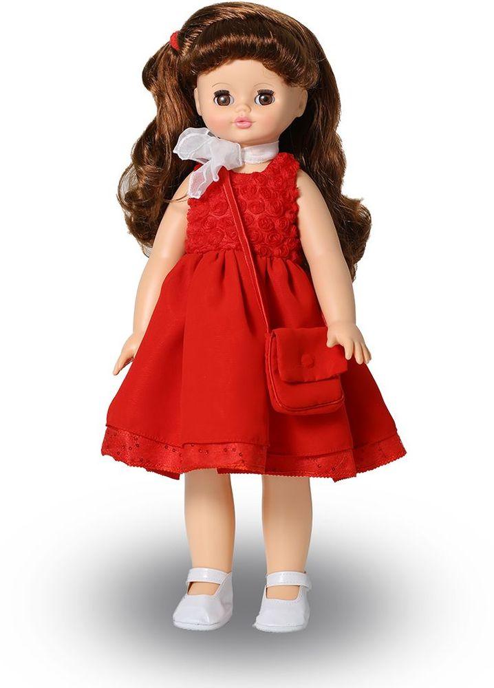 Весна Кукла Алиса озвученная В2950/оВ2950/оОчаровательная кукла Алиса покорит сердце любой девочки! Обаятельный внешний вид и прелестные одежки игрушечных красавиц вызывают только самые добрые и положительные эмоции. Куклы производятся на российских фабриках из нетоксичных, безопасных для детей материалов. Они отличаются высоким качеством, проработанностью деталей и гармоничными пропорциями тела. Голова и ручки кукол изготовлены из эластичного винила, очень приятного на ощупь, а туловище и ножки - из прочной пластмассы. У кукол густые мягкие волосы, которые можно мыть, расчесывать и заплетать как только захочется. Они прочно закреплены и способны выдержать практически любые творческие порывы ребенка. Особый восторг у маленьких модниц вызывают нарядные костюмы, которые можно снимать и менять. Дополнительно к куклам выпускаются самые разнообразные комплекты одежды. С прелестной куклой отечественного производства возможно не просто весело проводить время, но и научиться одеваться по сезону. Игра с очаровательными куклами...