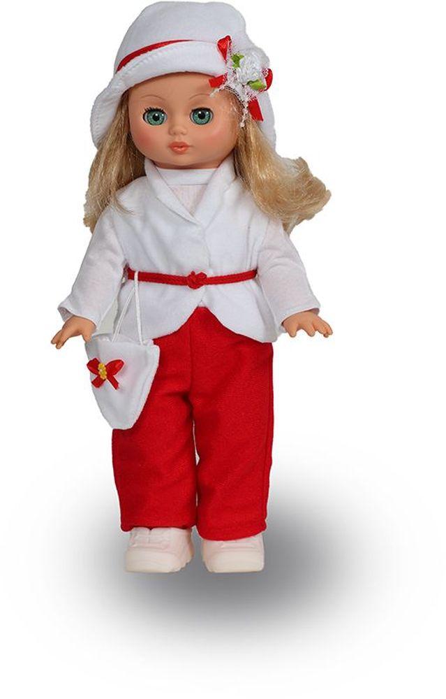 Весна Кукла Жанна озвученная В324/оВ324/оОчаровательная кукла Жанна покорит сердце любой девочки! Обаятельный внешний вид и прелестные одежки игрушечных красавиц вызывают только самые добрые и положительные эмоции. Куклы производятся на российских фабриках из нетоксичных, безопасных для детей материалов. Они отличаются высоким качеством, проработанностью деталей и гармоничными пропорциями тела. Голова и ручки кукол изготовлены из эластичного винила, очень приятного на ощупь, а туловище и ножки - из прочной пластмассы. У кукол густые мягкие волосы, которые можно мыть, расчесывать и заплетать как только захочется. Они прочно закреплены и способны выдержать практически любые творческие порывы ребенка. Особый восторг у маленьких модниц вызывают нарядные костюмы, которые можно снимать и менять. Дополнительно к куклам выпускаются самые разнообразные комплекты одежды. С прелестной куклой отечественного производства возможно не просто весело проводить время, но и научиться одеваться по сезону. Игра с очаровательными куклами...