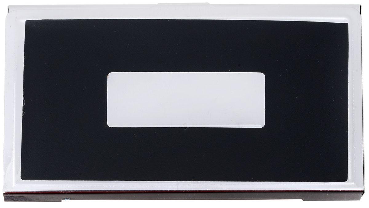 Визитница Mitya Veselkov Vizmet, цвет: черный. VIZMET-BLACK-simVIZMET-BLACK-simКлассическая металлическая визитница. Удобно организует визитки.