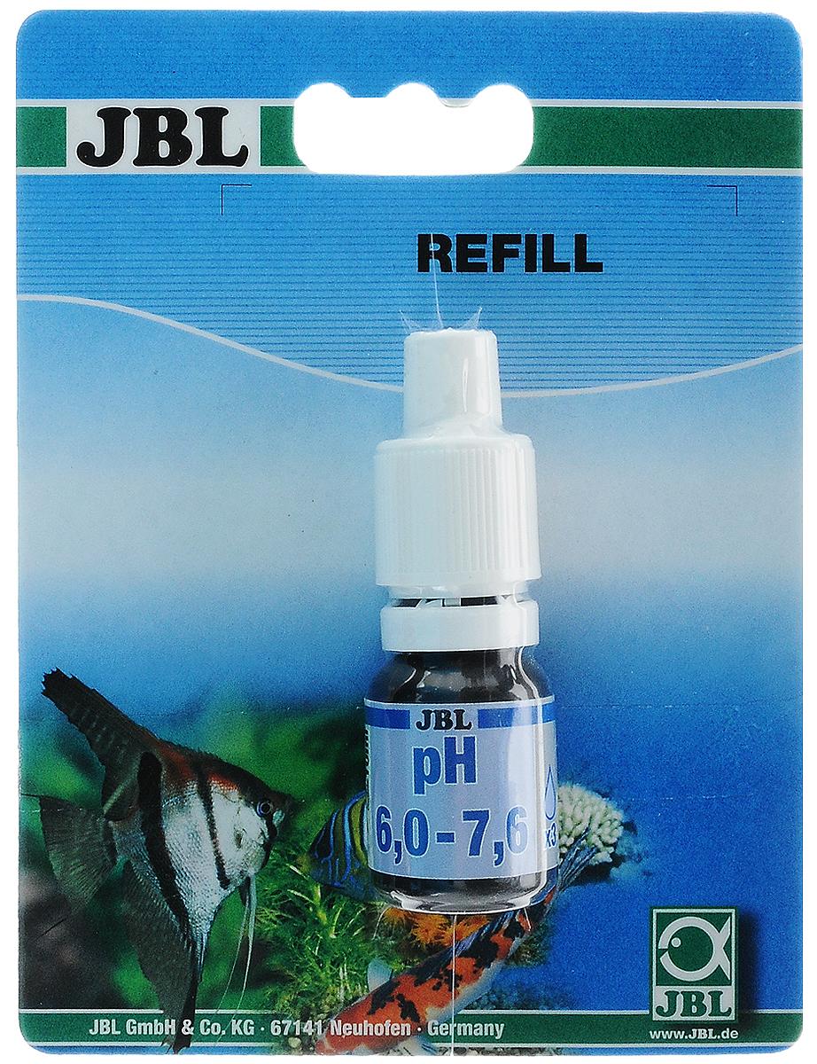 Реагент JBL pH, для определения pH в пределах 6,0-7,6 в пресной и морской воде, для комплекта JBL pH Test-Set, 10 млJBL2534700Реагент JBL pH представляет собой быстрой тест для определения pH в пределах 6,0-7,6 в пресной и морской воде. Он рассчитан на 80 измерений (3 капли на тест). Постоянное, по возможности, поддержание подходящего значения рН является важным условием для хорошего самочувствия рыб и роста водных растений. При удобрении углекислым газом значение рН играет важную роль как контрольная величина. Реагент предназначен для комплекта JBL pH Test-Set, артикул 2534600. Объем: 10 мл.
