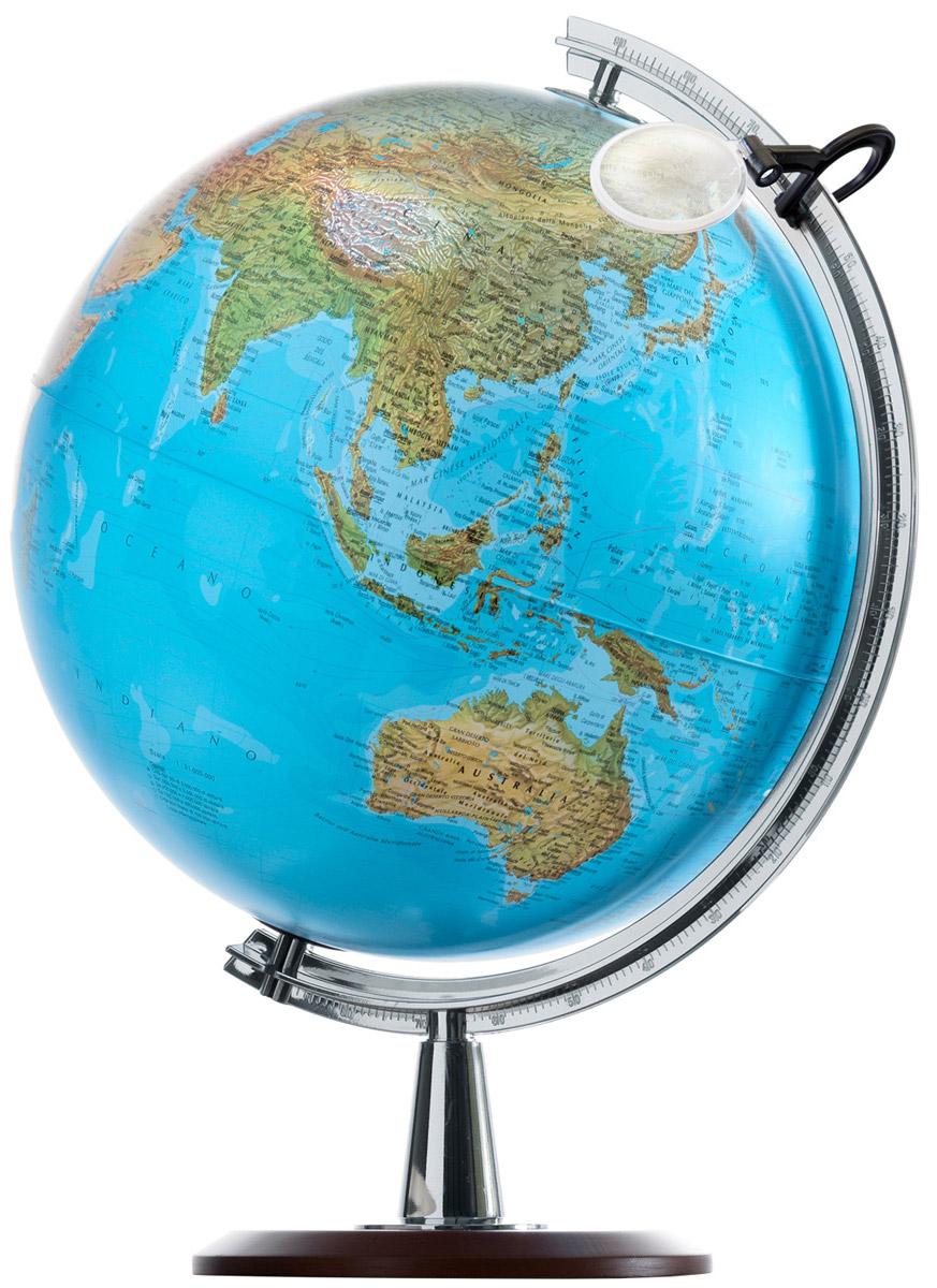 """Nova Rico Глобус """"Atlantis"""", с физической и политической картой мира, с подсветкой, диаметр 40 см 0340ATL"""