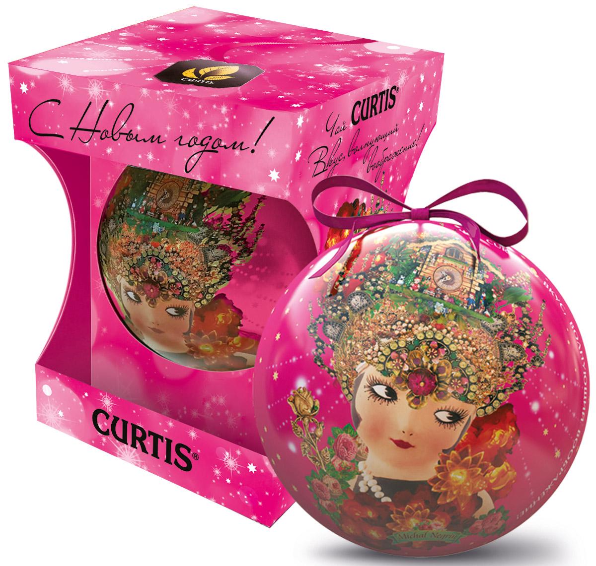 Curtis She-Shy Christmas Ball розовый, черный листовой чай, 30 г100134_розовыйПревосходный черный цейлонский чай Curtis She-Shy Christmas Ball в новогодней подарочной упаковке в форме шара золотого цвета. Отлично подойдет в качестве подарка на новогодние праздники. Уважаемые клиенты! Обращаем ваше внимание на то, что упаковка может иметь несколько видов дизайна. Поставка осуществляется в зависимости от наличия на складе.