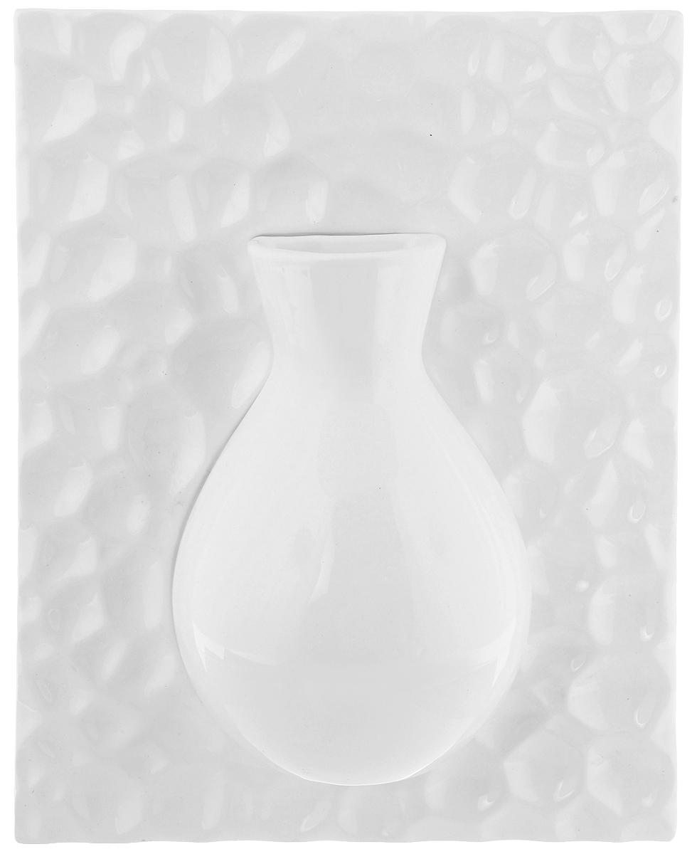 Ваза настенная House & Holder, высота 26 см. YDY17247YDY17247Оригинальная настенная ваза House & Holder, выполненная из керамики, украсит интерьер вашего дома или офиса. Вы можете повесить вазу в любом месте, где она будет удачно смотреться и радовать глаз. Такая ваза подойдет и для цветов, и для декора интерьера. Кроме того - это отличный вариант подарка для ваших близких и друзей.