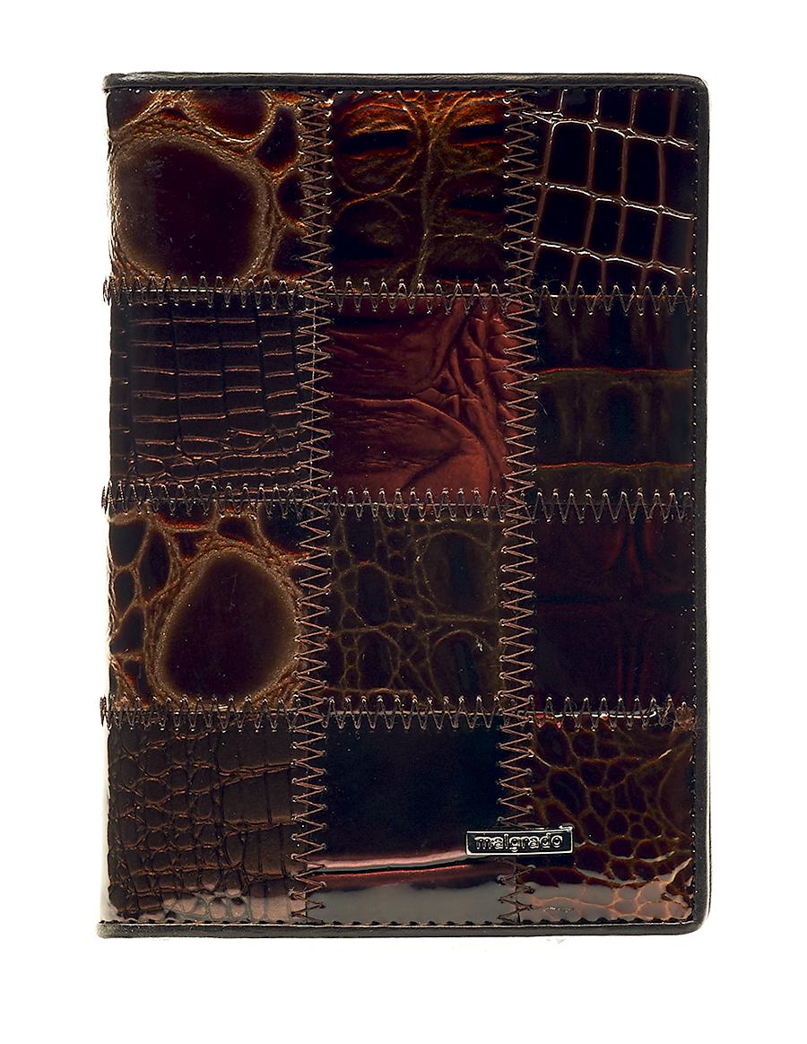 Обложка для паспорта женская Malgrado, цвет: коричневый. 54019-1A-490 54019-1A-490A Coffee