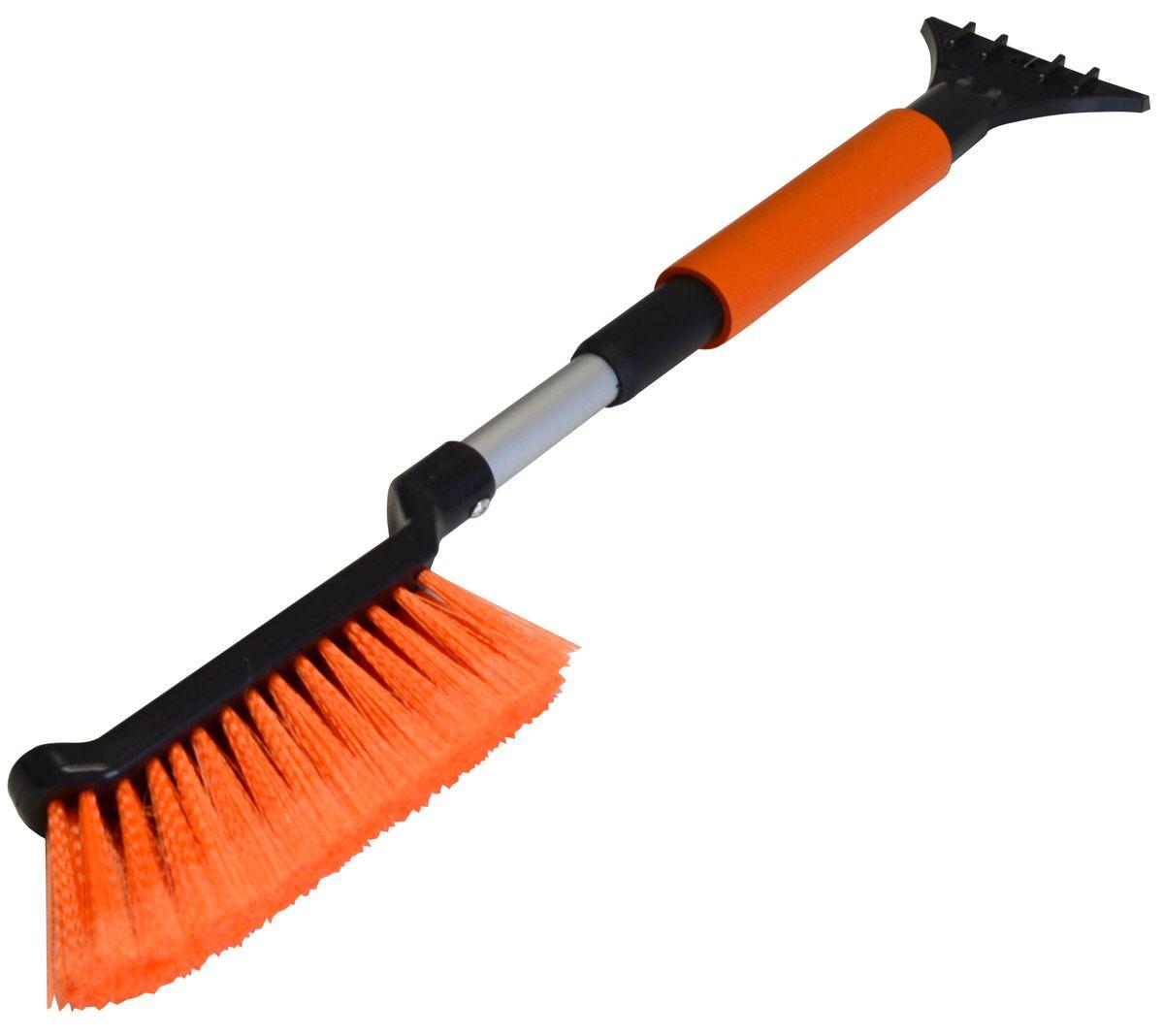 Щетка автомобильная Коллекция, со скребком, цвет: оранжевый. X5CT-70X5CT-70/2Щетка-скребок автомобильный для очистки снега и льда, цвет оранжевый.