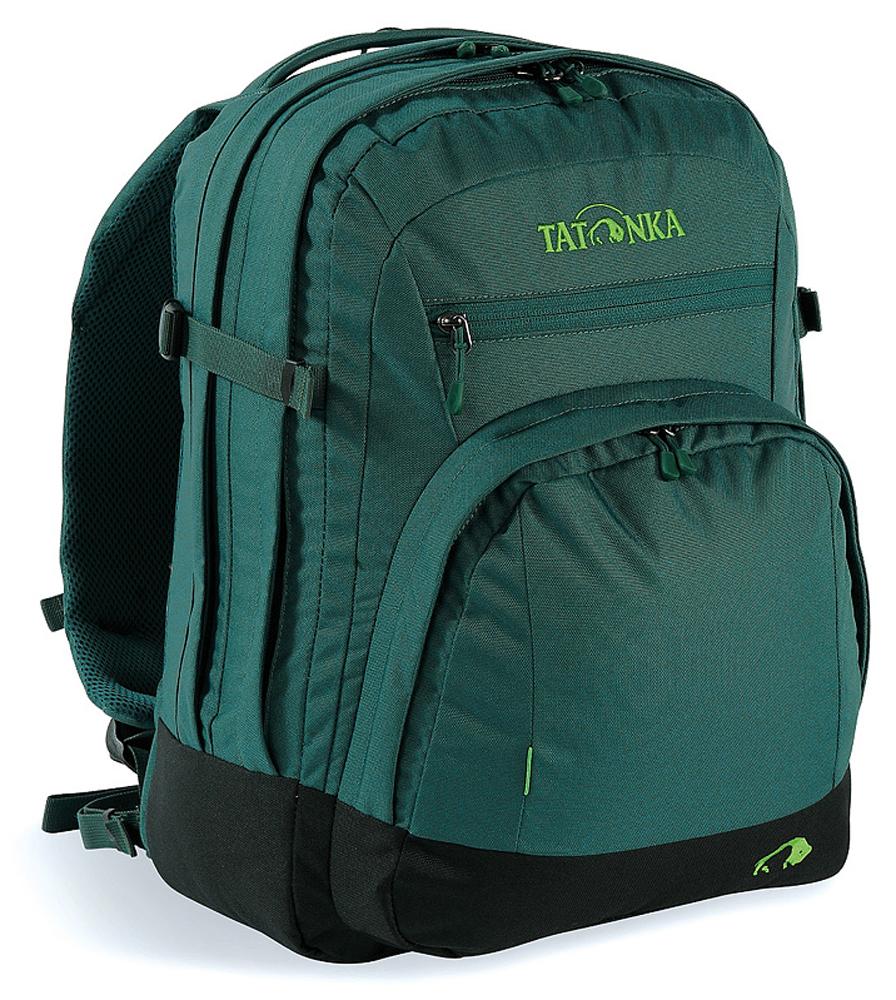 Городской офисный рюкзак Tatonka Marvin, цвет: темно-зеленый, 13л1691.190Городской рюкзак с отделением для документов и ноутбука 15,4 дюйма.