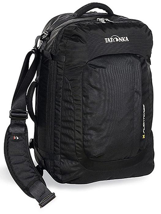 Сумка-рюкзак для путешествий Tatonka Flightcase, цвет: черный, 40л1150.040Сумка-рюкзак для перелетов и других путешествий. Можно переносить за ручку, на плечевом ремне, как сумка, или надеть лямки и нести, как рюкзак.